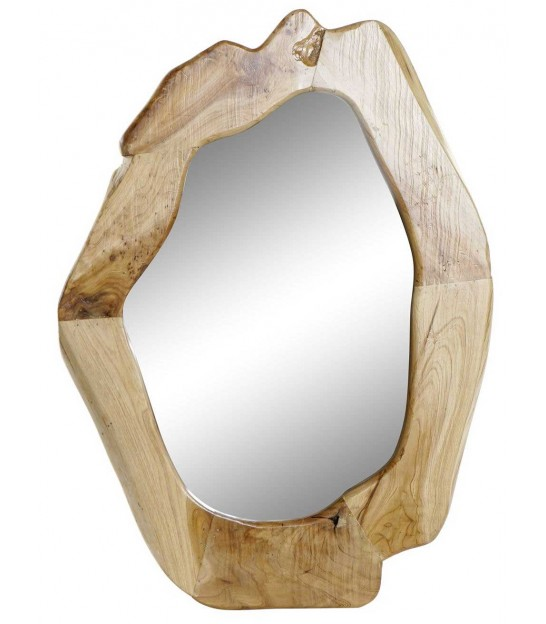Classical Wall Mirror Wood