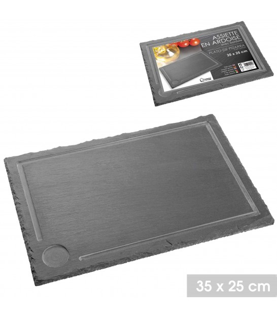 Set of 2 Slate Boards - 30x40cm