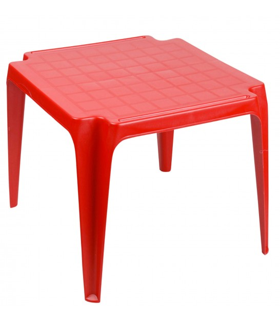 Red Garden Table for Kids