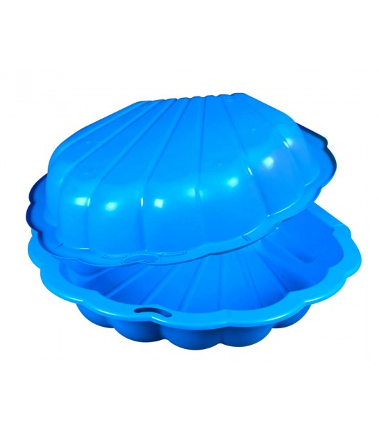 Sandbox for Kids Blue Plastic