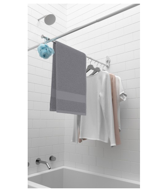 Adjustable Shower Curtain Rod 110 to 200cm