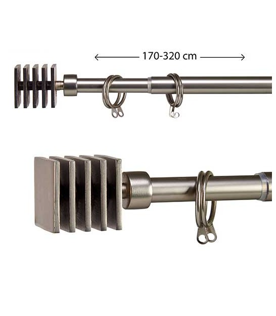Curtain Rod - Ball - 170 to 320cm