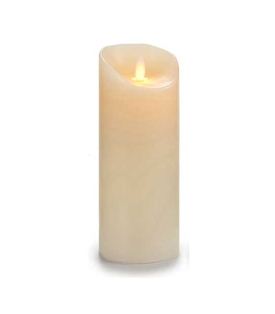 Set of 4 Led Candles White