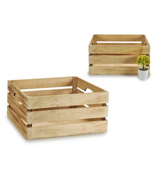 Wood Box - Set of 3