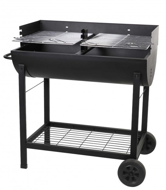 Black Iron Barbecue - 100x47x94cm