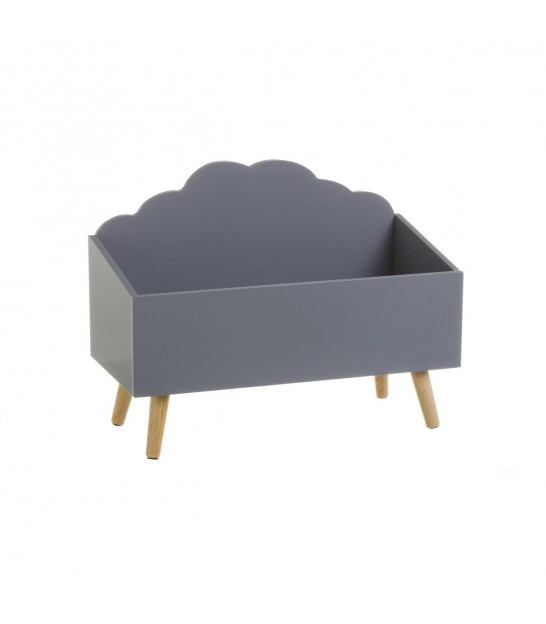 Toy Storage MDF Grey Cloud