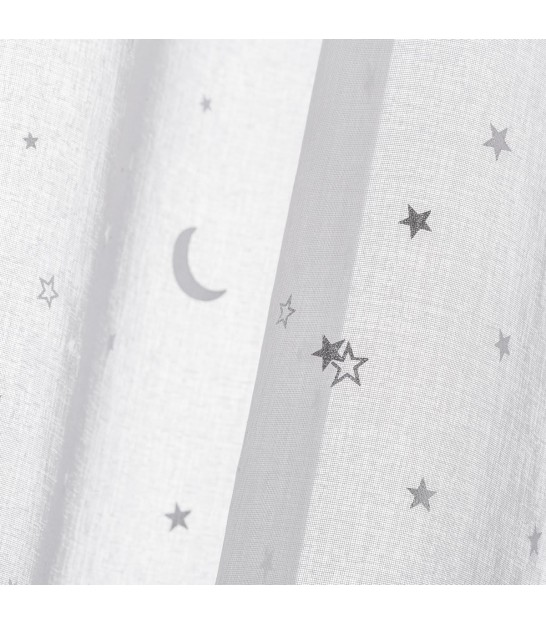 White Sheer Stars - Length 260cm
