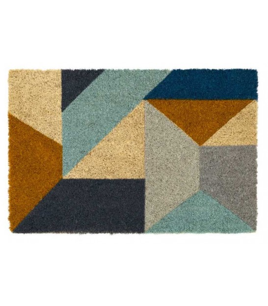 Coco Doormat Welcome Tropic - 60x40x1.5cm