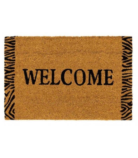 Coco Doormat Jungle Zebra - 60x40x1.5cm