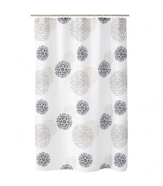 Shower Curtain Stars Polyester 180x200cm