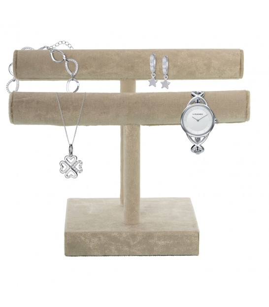 Jewelry Stand Red Velvet