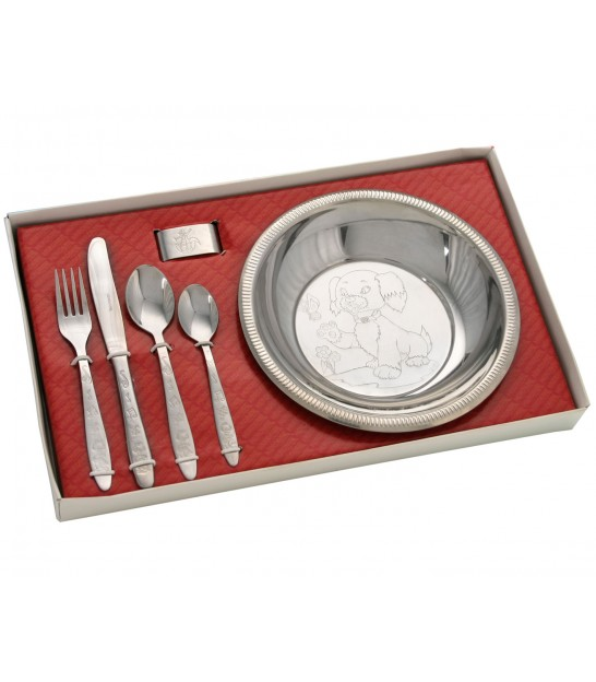 Children Dining Set Inox
