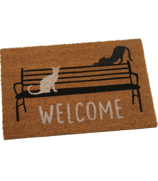 Coco Doormat Multicolore Flowers - 60x40cm