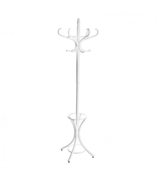 Coat Rack Parrot White Wood