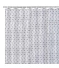 Shower Curtain White Polyester 180x200cm