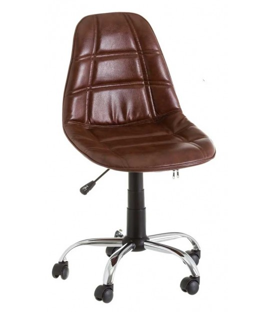 Wood and Metal Office Chair