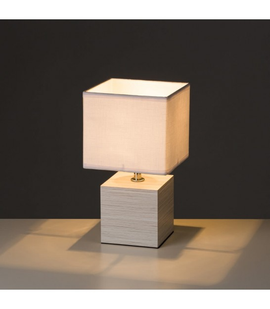 Table Lamp White - Height 33cm