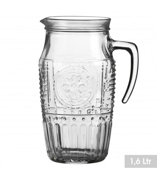 Design Glass Pitcher Green - 1L