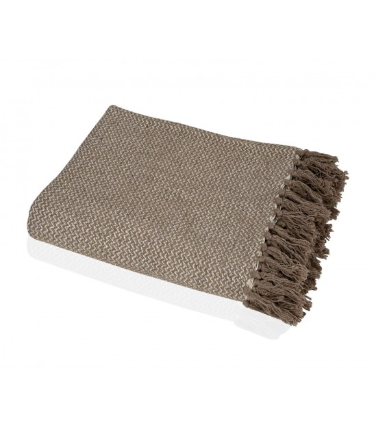 Throw Nature Cotton Beige