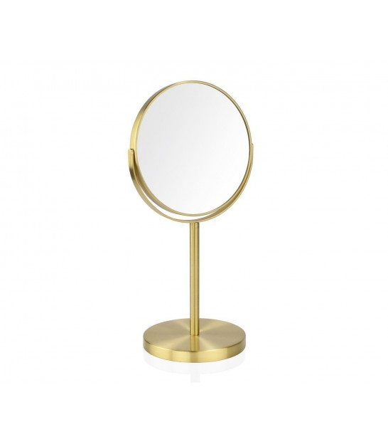 Magnifying Mirror x2 Double Face Gold