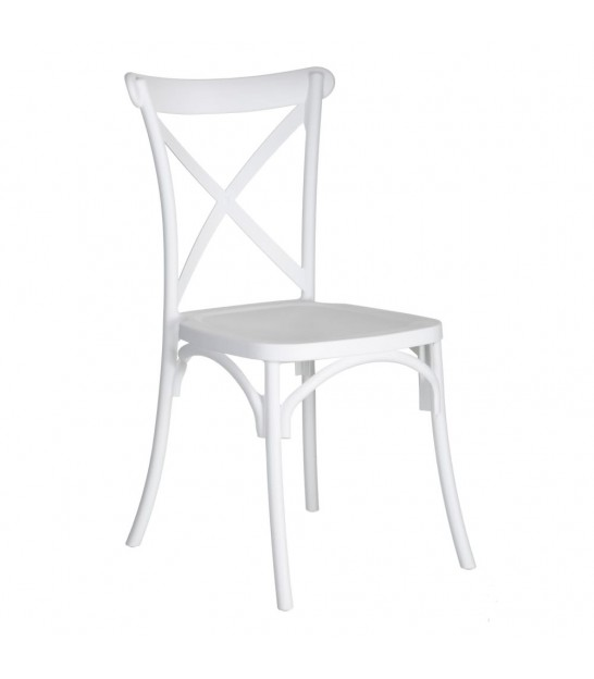 Chair White Vintage Polypropylene