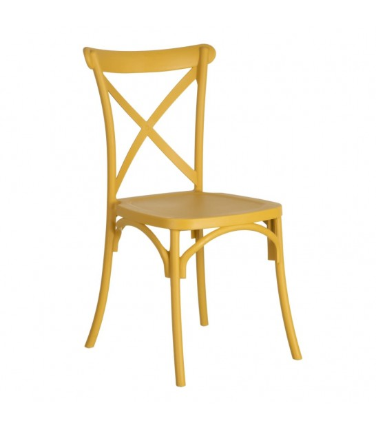 Chair Yellow Vintage Polypropylene