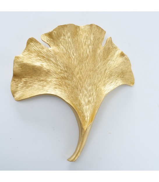 Wall Decoration Fishes Gold Metal