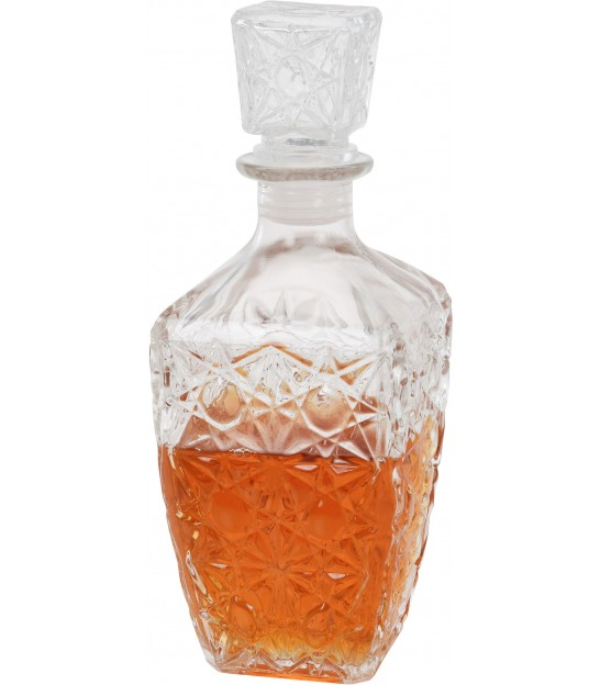 Vintage Glass Whisky Decanter