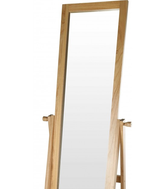 Stand Mirror Wood