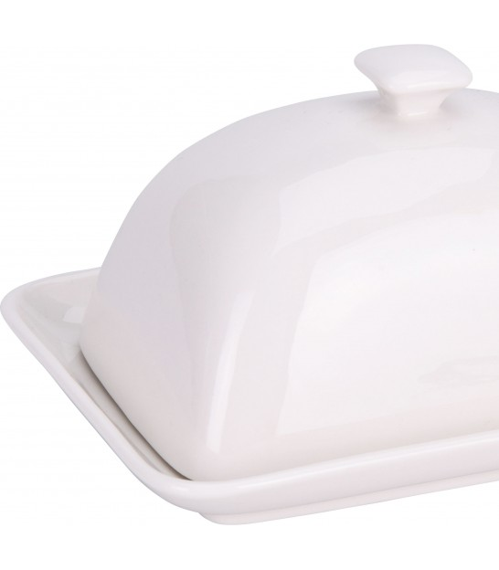 Glass Butter Dish with Lid