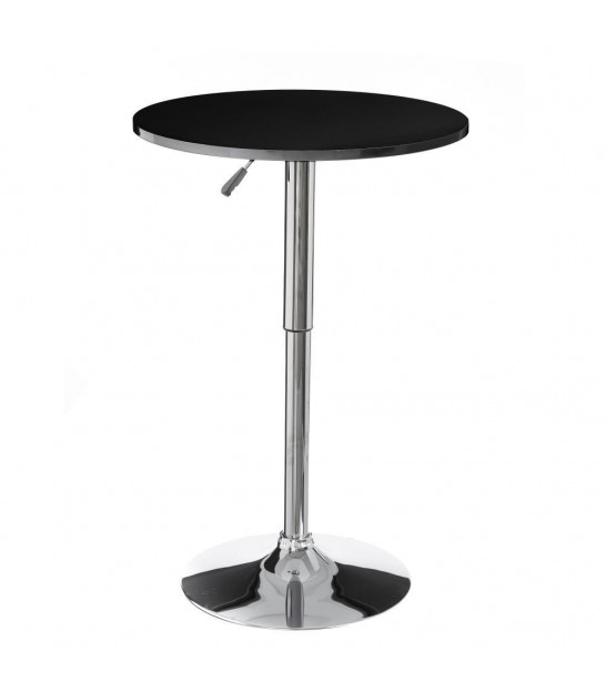 Design round bar table Wood and Metal