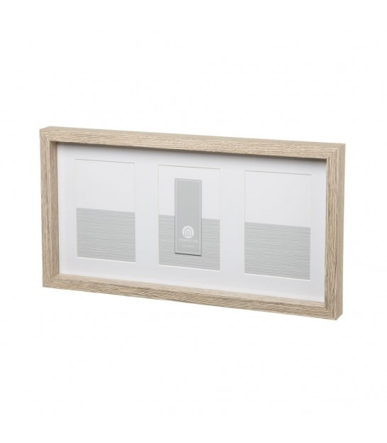 Glass and Wood MDF frame -13x18cm