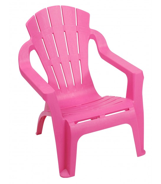 Fuchsia Garden Lounge Chair for Kids