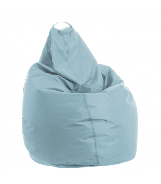 Pouf Pear Design Polyester Beige