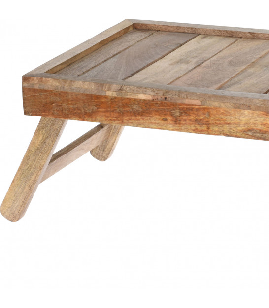 Wood Bed Tray
