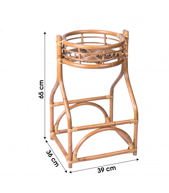 Plant Pot Stand Rattan - Height 105cm