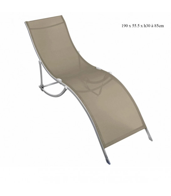 Garden Lounge Chair Red