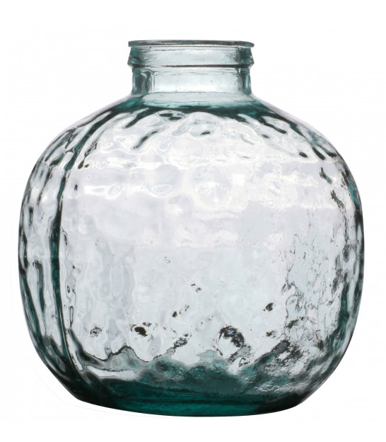 Recycled Glass Vase - H40cm