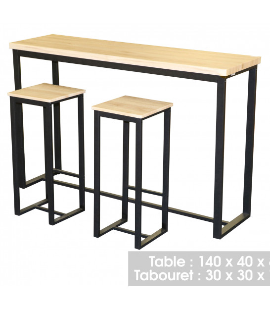 Bar Table + 2 Bar Stools