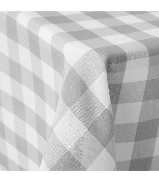 Red and White Vichy Tablecloth -210x140cm