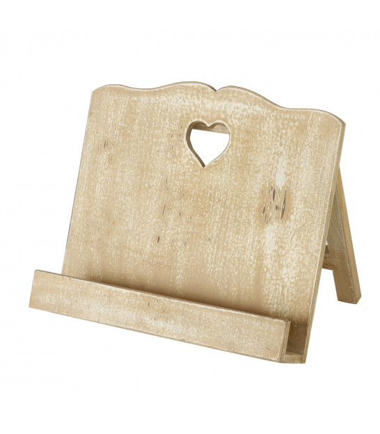 Cook Book Stand Wood