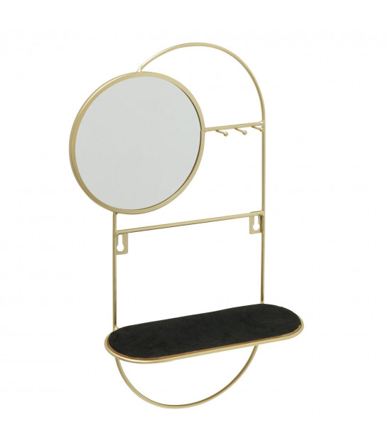 Jewelry Stand Gold Metal