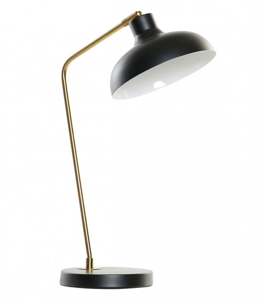 Table Lamp Metal Black and Gold