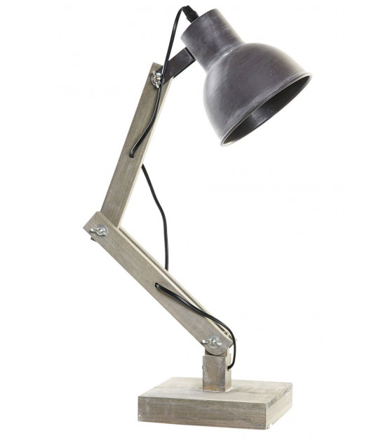 Table Lamp Metal and Wood