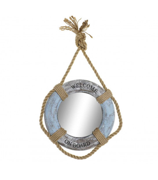 Round Suspended Wall Mirror Seaside Decoration