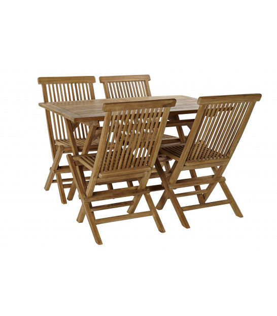 Garden Set Table + 4 Chairs