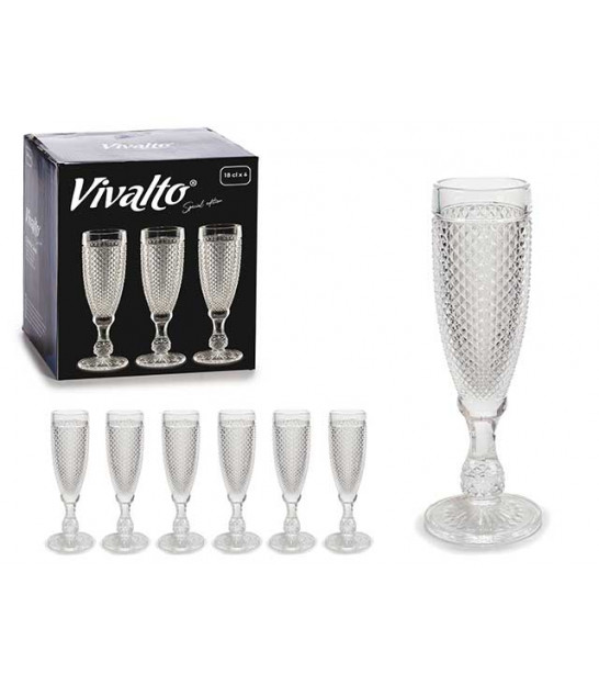Set of 3 Champagne Flutes
