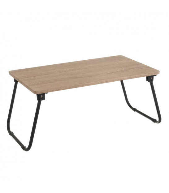 Wood and Metal Bed Tray