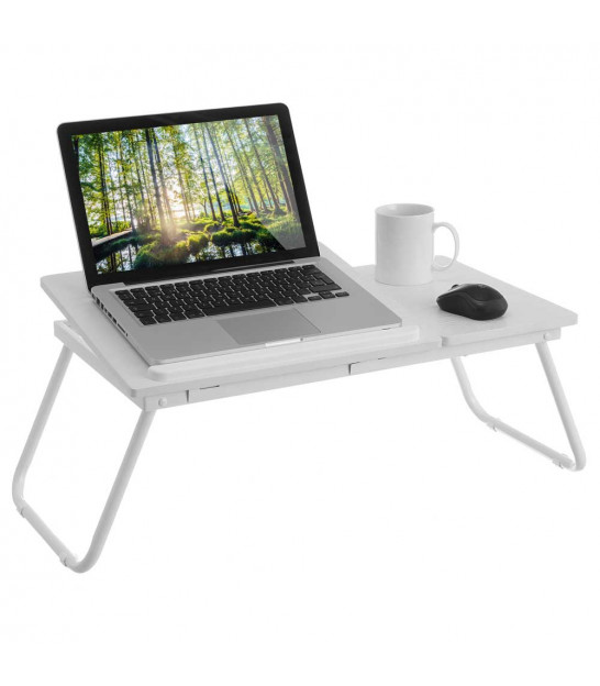 Wood White Bed Tray