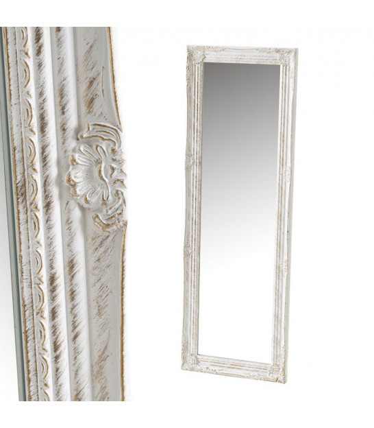 Classical Mirror Wood Silver